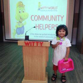 Complex Community Helper Doctor Few Lines On The Top Of The World...: Dress Me Up- Community Helpers In J