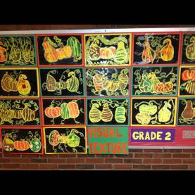 Complex Fall Art Projects For Elementary Students Fall Art Work | Memorial Elementary Student