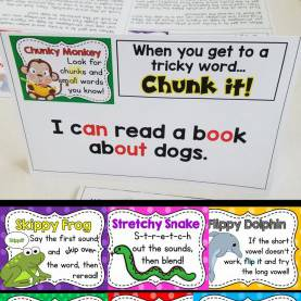 Complex Guided Reading Strategy Cards 8 Best Word Work Images On Pinterest   6 Packs, Chunky Monkey An