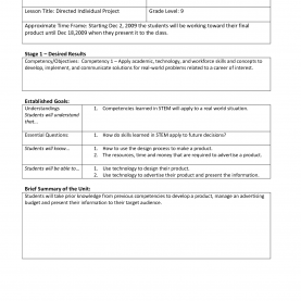 Complex How To Make A Lesson Plan Template In Word New Stem Lesson Plan Template | Josh-Hutche