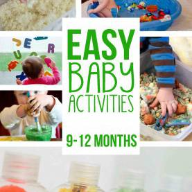 Complex Infant Learning Activities 20+ Fun & Easy Baby Activities - Busy Tod