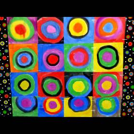 Complex Kandinsky Lesson Plans 1St Grade The Smartteacher Resource: Concentric Circles With Kandi