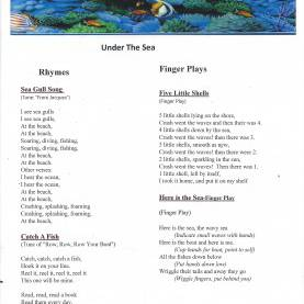 Complex Kindergarten Lesson Plans For Under The Sea Under The Sea Songs | Kid Ideas | Pinterest | Songs, Ocean An