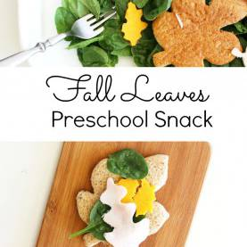 Complex Leaf Snacks For Preschoolers Fall Leaves Snack Acti