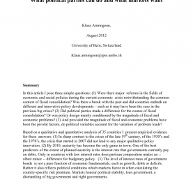 Complex Lesson Plan Sample 4As The Politics Of Austerity: What Political Parties Can do And Wha