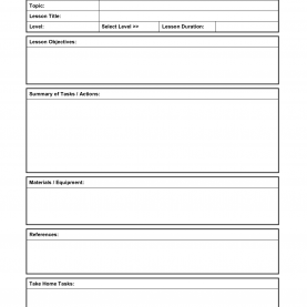 Complex Lesson Plan Template Blank Best Photos Of Art Lesson Plan Template Printable - Printabl