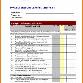 Complex Lessons Learned Template Prince2 Prince2 Lessons Learned Report Template New 5 Lessons Learne