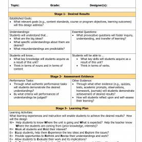 Complex Sample Ubd Lesson Plan In English High School Know What You Need To Teach, But Unsure How To Deliver? Use Thi