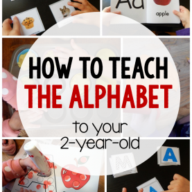 Complex What To Teach A Two Year Old Alphabet Activities For 2-Year-Olds - The Measure