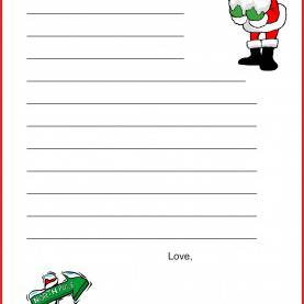 Excellent Christmas Lesson Plans A Christmas Lesson Plan: Write A Letter To Santa Claus