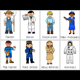 Excellent Community Helper Cards Images Of Community Helpers #
