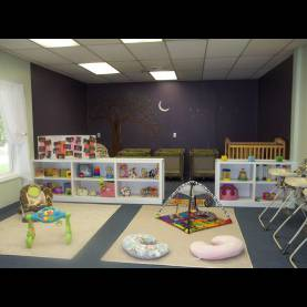 Excellent Daycare Ideas For Infants The Separation In This Room Between A Napping/resting Area And Th