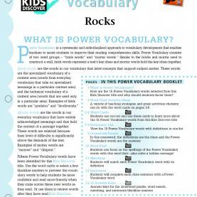 Excellent Environmental Science Lesson Plans For Elementary Rocks - Kids Discover Sign Up For Free @ Kids Discover & Downloa