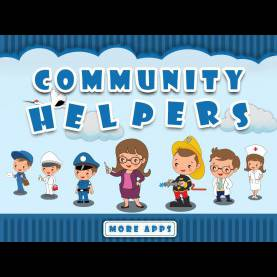 Excellent Essay On Community Helpers For Kids Community Helpers By Tinytapps L Community Helpers Activities Fo