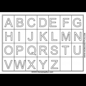 Excellent Free Preschool Worksheets A Z Alphabet Coloring Pages Download And Print For Free | Pre