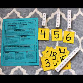 Excellent Kindergarten Lesson Plan Numbers Number Sense Lesson Plans And Materials - Tunstall'S Teaching Tid