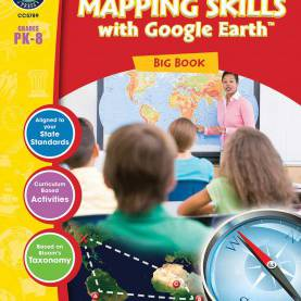 Excellent Lesson Plan Big Book Activities Mapping Skills With Google Earth™ - Big Book - Grades Pk-
