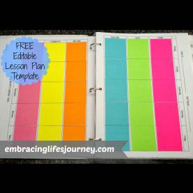 Excellent Lesson Plan Book Template Free Teacher Plan Book Template - Commonpenc