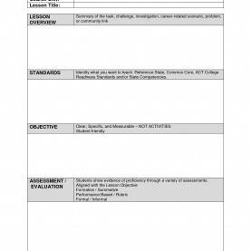 Excellent Madeline Hunter Lesson Plan Template Free Team Lesson Plan Template | Templa
