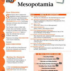 Excellent Mesopotamia Lesson Plans Mesopotamia - Kids Disc