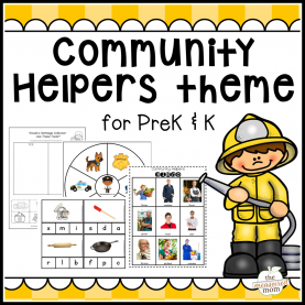 Excellent Preschool Lesson Plans Community Helpers Theme Community Helpers Theme Pack For Pre-K/k | Community Helper