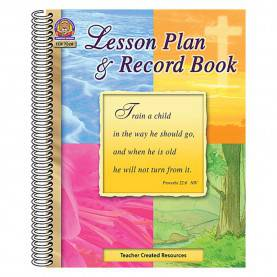 Excellent Teacher'S Lesson Planner And Record Book Spiral-Bound Christian Lesson Plan & Record Book - Tcr7028 | Teacher Create