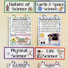 Fresh 5Th Grade Physical Science Lesson Plans 3Rd Grade Florida Science Standards - I Can Statements - Full Pag