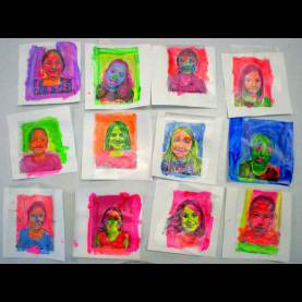 Fresh Art Lesson Plans Year 1 Pop Art Face Transfers: Free Lesson Plan Download - The Art O