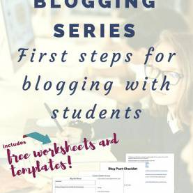 Fresh Blogging Lesson Plans First Steps And Considerations With Student Blogging | Bloggin