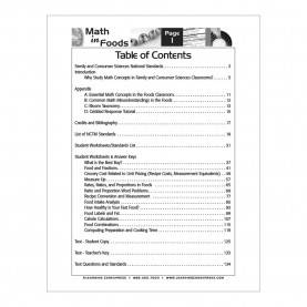 Fresh Facs Lesson Plans Unique And Entertaining Facs Lesson Plans: Math In Foods Curric