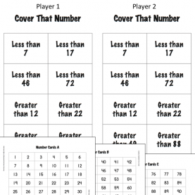 Fresh First Grade Math Lesson Plans Number Sense Free Number Sense And Place Value Activity ~ Compare 2-Digi