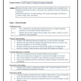 Fresh Inequalities Lesson Plan Backward Design Lesson Plan Margusriga Baby Party : The Use O