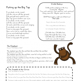 Fresh Infant Lesson Plans For Circus Mrs Home Ec: The Circus Ship | Preschool--Circus | Pinteres