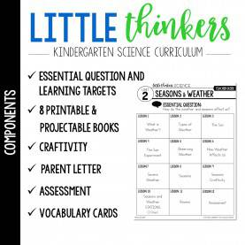 Fresh Kindergarten Lesson Plans Weather Seasons Little Science Thinkers - Unit 2: Seasons & Weather - Mrs. Jones'