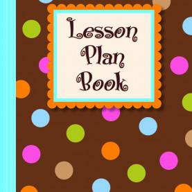 Fresh Lesson Plan Book Cover Sheet Amazon.In: Buy Dots On Chocolate® Lesson Plan Book (Ctp 1261) Boo