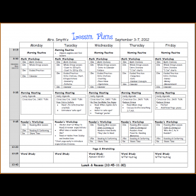 Fresh Lesson Plan Calendar Template Word 7+ Lesson Plans Template | Authorizationletters
