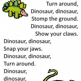Fresh Lesson Plans For Preschool Dinosaur Theme Itty Bitty Dino Dig Rhyme: Dinosaur, Dinosaur - Use For Part O