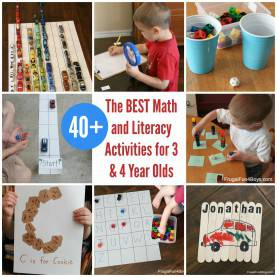 Fresh Nursery Activities For 3 Year Olds The Best Math And Literacy Activities For Preschoolers €? 3 &