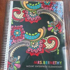 Fresh Personalized Teacher Planner My Take On The Erin Condren Teacher Planner! - Saddle Up Fo