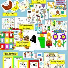 Fresh Preschool Concepts To Teach Five Little Ducks Speech And Language Activities Unit | Mat