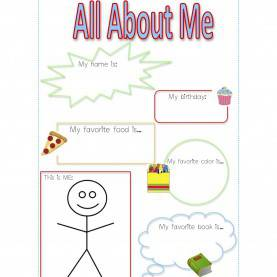 Fresh Preschool Plan It All About Me Theme For Preschoolers