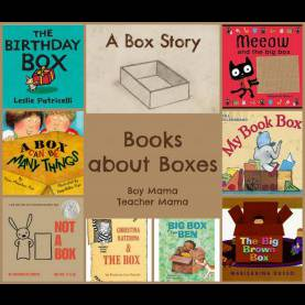 Fresh Preschool Theme Books For Teachers Boy Mama Teacher Mama | Books About Boxes. Preschool Activit