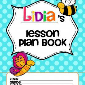 Fresh Teacher Lesson Plan Book Cover Forever In First: June