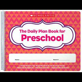 Fresh The Daily Plan Book For Preschool The Daily Plan Book For Preschool: Amazon.Ca: Scholastic Inc: B