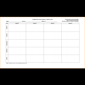 Good 3 Week Lesson Plan Template Lesson Plans Calendar - Commonpenc