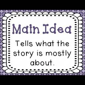 Good 3Rd Grade Lesson Plans For Main Idea Main Idea - Lessons - Tes T
