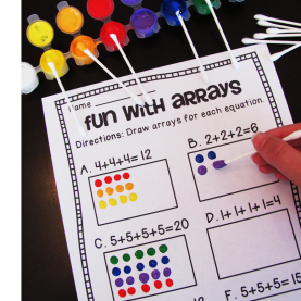Good Array Lesson Plan 2Nd Grade Miss Giraffe'S Class: How To Teach Ar