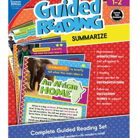 Good Dra Level 6 Printable Books Guided Reading: Summarize Resource Book Grade 1-2 | Carson-Dellos