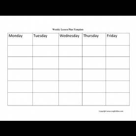 Good English Lesson Plan Template Doc Weekly Lesson Plan Template - The Free Website Templ