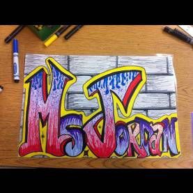 Good Grade 8 Art Projects 8Th Grade Graffiti Letters! | W.H.A. Elementary/middle School Ar